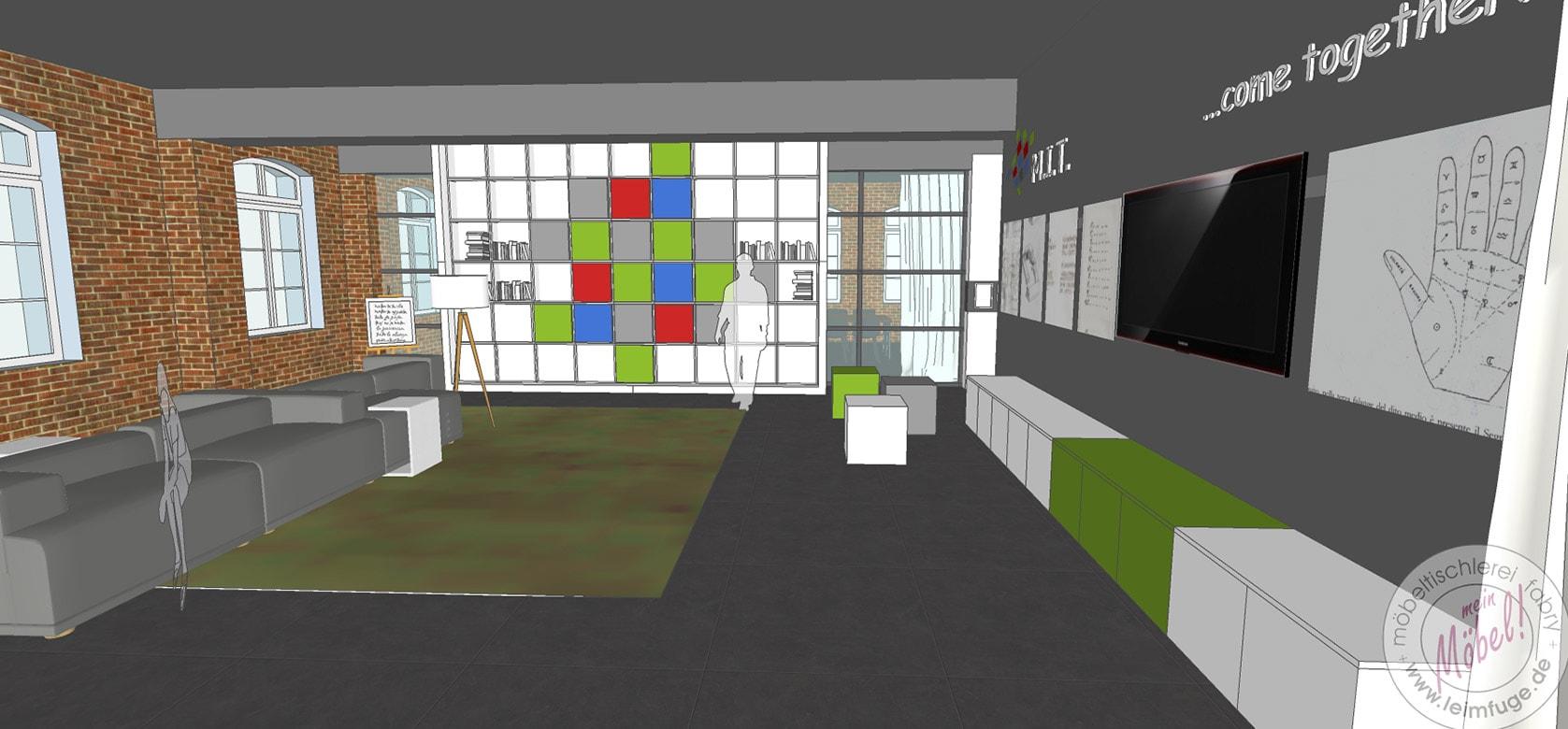 Living-Room für Events im Mindener Innovationszentrum